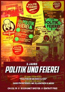 2 Jahre Politik & Feierei